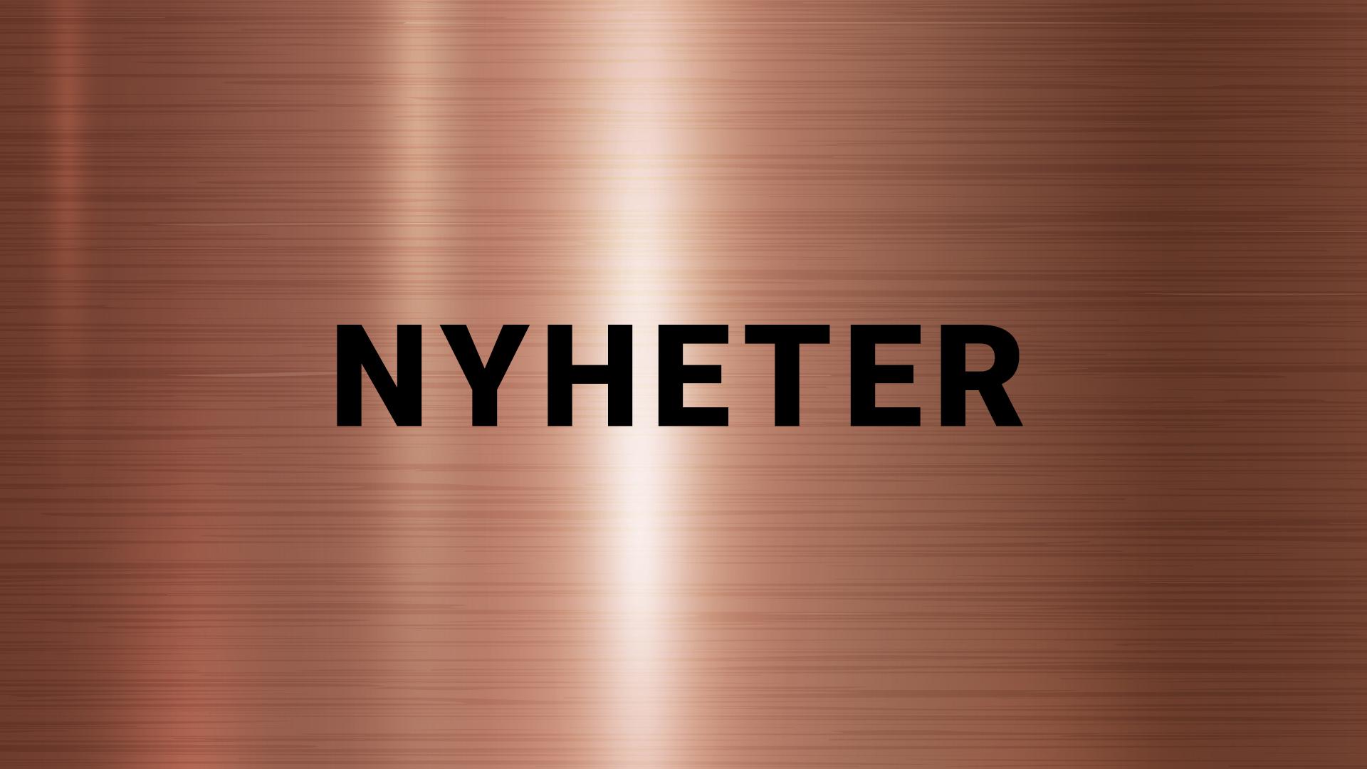 NYHETER-START